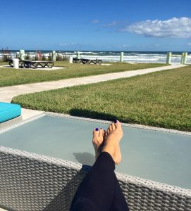 Relax at Salty Mermaid Oceanfront Hotel